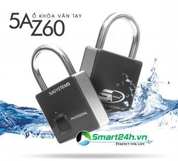 Khóa Vân Tay 5ASMARTLOCK Z60 chống nước