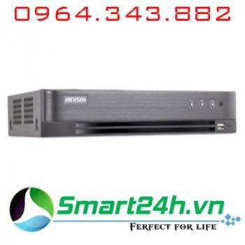 Đầu ghi 4 kênh HDTVI 5MP H.265+ Hikvision DS-7204HUHI-K1 - Có báo động