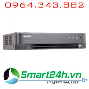 Đầu ghi 8 kênh HDTVI 5MP H.265+ Hikvision DS-7208HUHI-K2-Có báo động