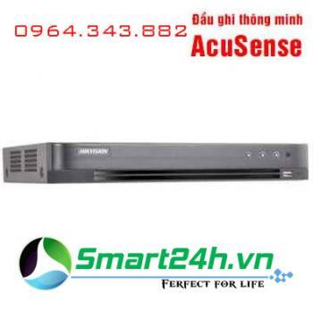 Đầu ghi thông minh AcuSense 4 kênh Hikvision iDS-7204HUHI-K1/4S