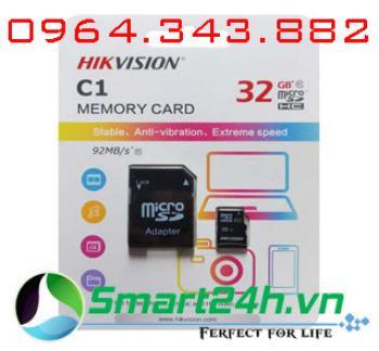 Thẻ nhớ 32Gb HIKVISION HS-TF-C1