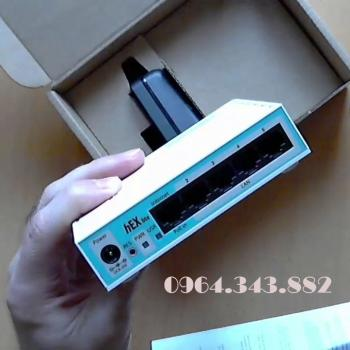 Router Mikrotik RB750R2 - 5 cổng mạng 10/100