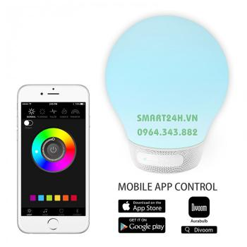 Loa Di Động Bluetooth kiêm đèn ngủ đổi màu