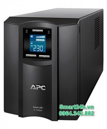 BỘ LƯU ĐIỆN APC Smart-UPS C 1000VA LCD 230V - SMC1000I