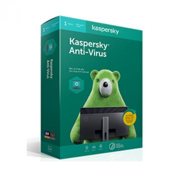 Kaspersky Antivirus (KAV) - 1 User