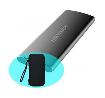 Ổ cứng di động 256GB External SSD Hikvision T200N USB 3.1 Type-C T200N(STD)/256G