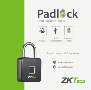 Ổ khóa vân tay ZKTeco Padlock
