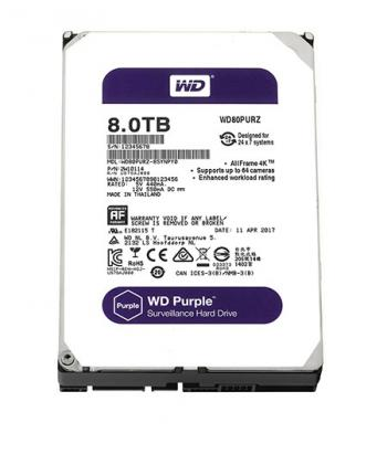 Ổ cứng WD Purple 8TB WD80PURZ